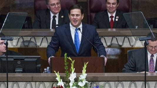 Is Gov. Ducey joking when he proposes a 4/10s of the percent pay raise for teachers?