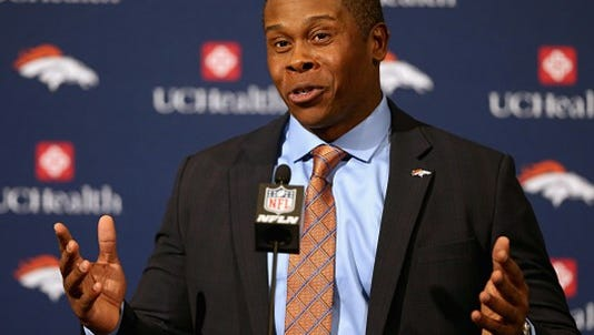 New Denver Broncos' head coach Vance Joseph was accused but never charged in 2003 sexual assault case at the University of Colorado.