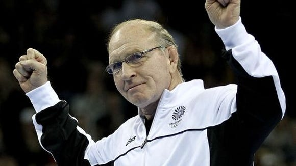 Wrestling legend Dan Gable will return to the area April 28 and 29 for a dinner and clinic that benefits Eblen Charities' Headlock on Hunger drive.