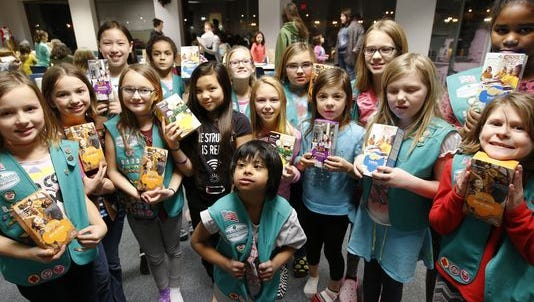 They're coming! Girl Scout cookie sales commence Monday, Jan. 23.