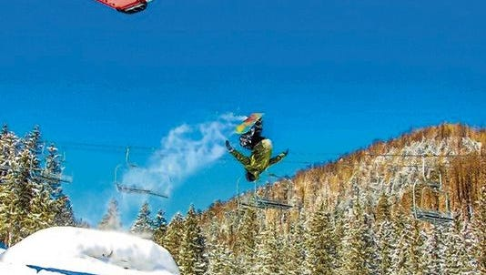 Ski Apache's final Terrain Park Competition begins  11 a.m. for the Youth Division (12-and-younger), $10 entry; and at 1 p.m. for the Big Park Division (13-and-older), $25 entry.