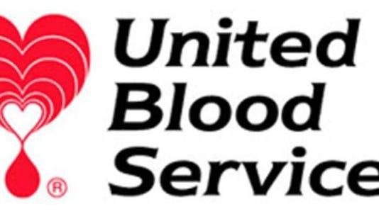 United Blood Services logo.