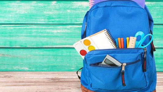Stock photo of backpack