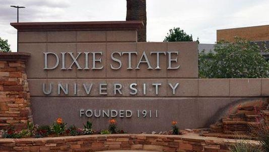 Dixie State University is located in St. George.