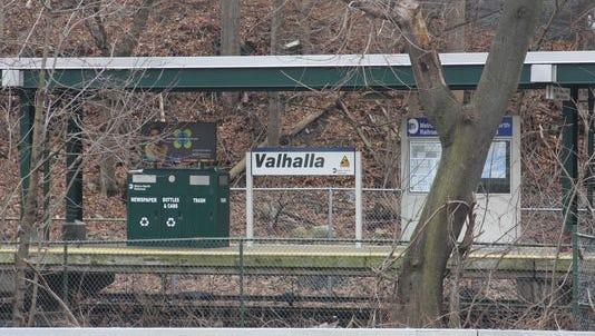 Valhalla train station in Mount Pleasant.