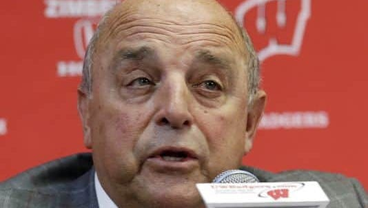 Wisconsin athletic director Barry Alvarez will be at Badger Day in Naples on Tuesday.