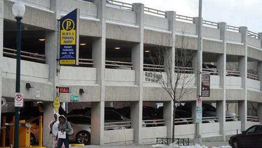 The city's current parking is fully leased, officials reported Feb. 3.