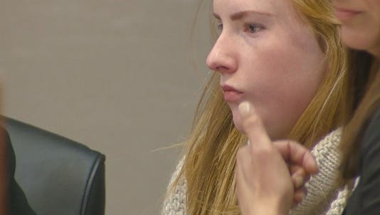 Brooke Higgins, 17, was given credit for the 411 days she already spent in custody on the felony charge of solicitation of first-degree murder.