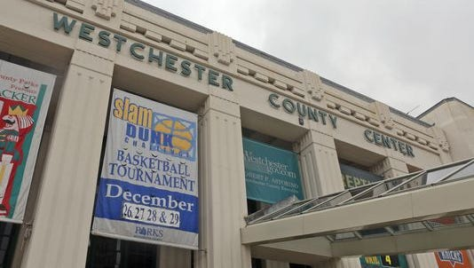 The exterior of the Westchester County Center, which will host Section 1's Championship Week on Feb. 27-March 5, 2017.