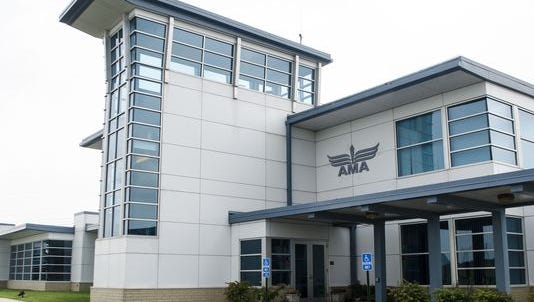 Academy of Model Aeronautics (AMA), 5161 E. Memorial Drive.