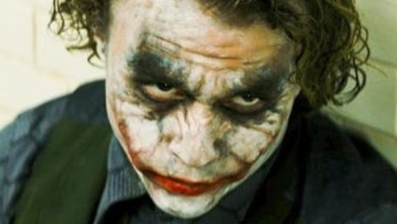 "Health Ladger as The Joker in ""The Dark Knight"""