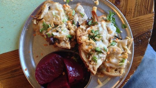 Open Face sandwich at Open Face in the South Wedge.