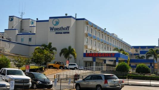 """Wuesthoff's Rockledge and Melbourne hospitals """"are seeing a surge of patients with flu and flu-like symptoms on top of the usual injuries and illness,"""" says Eileen Bentley, marketing manager of Wuesthoff Health System."""