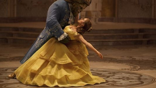 """Emma Watson and Dan Stevens star in the new Disney movie, """"Beauty and the Beast."""""""