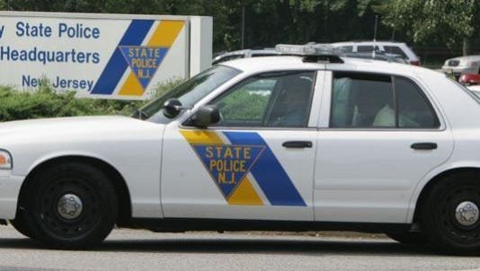A New Jersey State Police vehicle.