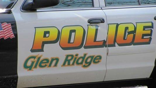 Glen Ridge police car.