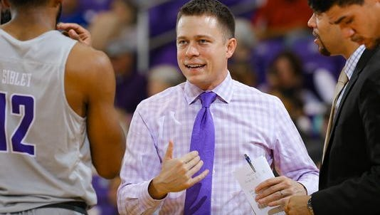 Bob Richey, shown in a file photo, led Furman into the CIT semifinals Wednesday night.