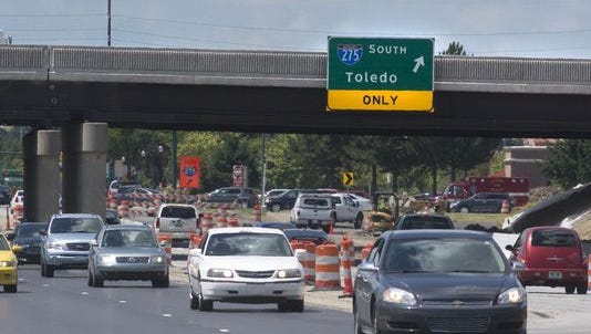 Ford Road east of Interstate 275 will see construction work starting Monday.