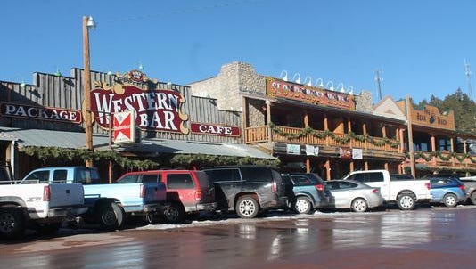 In this file photo, the Western Cafe and Bar in Cloudcroft. USA Today recently announced that it was searching for the 10 best southwestern small towns. Among the 20 nominees, the Village of Cloudcroft is in the running and currently in third place hoping to earn the top spot as the best small town in the southwest.
