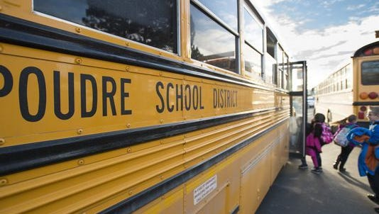 Poudre School District headquarters will cut $800,000 in central office positions and budget reductions next school year.