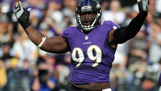 The Eagles traded for Ravens defensive tackle Timmy Jernigan on Tuesday. Jernigan had five sacks for the Ravens last season.