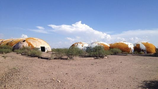 These are the domes of Casa Grande (but not the picture Clay received).