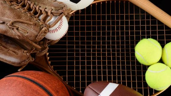 Prep sports roundup stock photo.