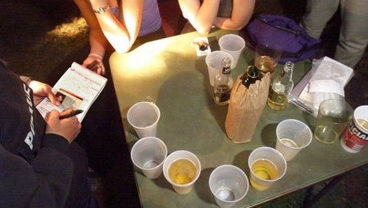 Excise police cited or arrested 151 people on 316 charges during Little 500 weekend.