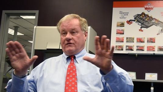 Pennsylvania gubernatorial candidate and state Sen. Scott Wagner.