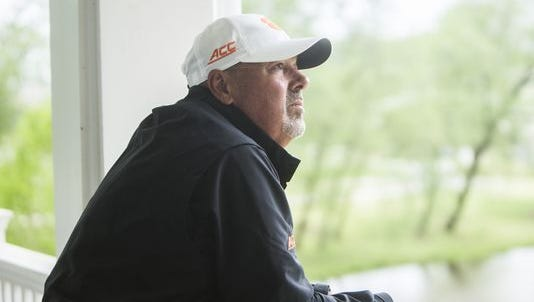 Coach Larry Penley will lead the Clemson men's golf team into the NCAA Tournament as he has done every season of his long tenure.