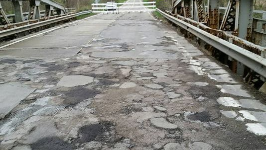 The bridge's designation as historic could affect how repairs are made.