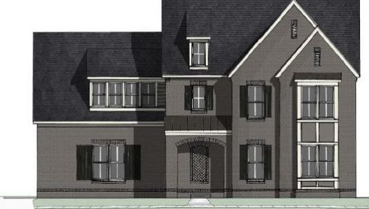 A rendering of the new St. Jude Dream Home in Mt. Juliet