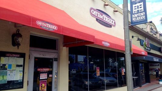 Off the Traxx restaurant closed for now due to health code violations.