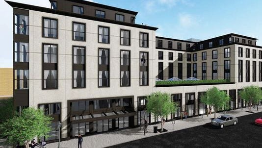 Plans are moving forward for a five-story luxury hotel in downtown Birmingham