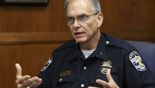 Louisville Metro Police Department Chief Steve Conrad