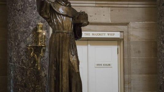 Entrance to House Majority Whip Steve Scalise's office.