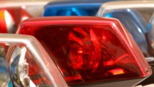 File image of police lights
