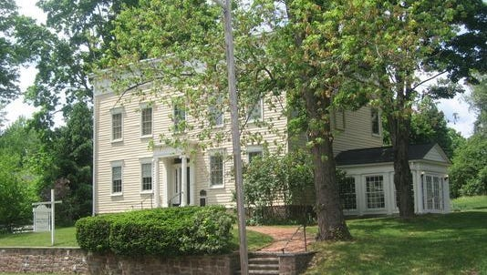 The Israel Crane House on Orange Road in Montclair is the home of the Montclair History Center