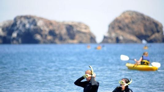 Kayak or snorkel at the Channel Islands.