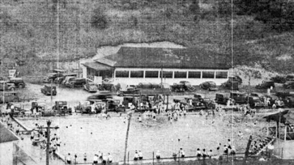 In mid-20th century and earlier, Springwood Pool in York Township was a popular spot. And movies were shown on a lot across Springwood Road and down the street.