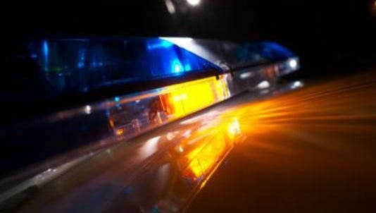 An Alabama man was transported to hospital with minor injuries Monday night after crashing the semitruck he was driving.