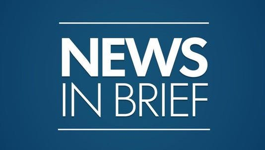Thursday news briefs for the News-Messenger.