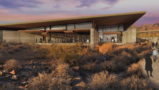 The city is back with yet another plan to build a desert interpretive center on land that taxpayers paid to preserve.