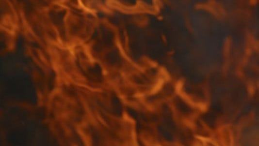 Firefighters were called to a home near Simpsonville Thursday for a reported fire that started from a gas leak, according to dispatchers.