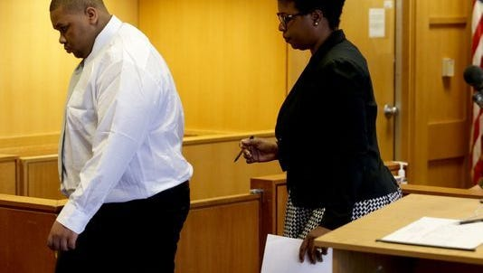 Juwan Plummer pleaded guilty today in Detroit police shootings