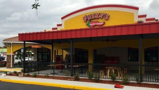 A Fuzzy's Taco Shop location.