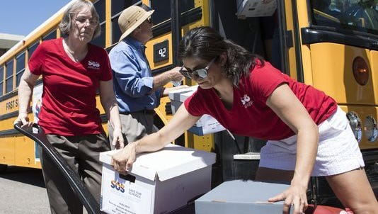 ave our Schools Arizona delivered 111,540 signatures to the secretary of state on Aug. 8, 2017, to put the controversial expansion of Arizona's school-voucher program on the November 2018 ballot.