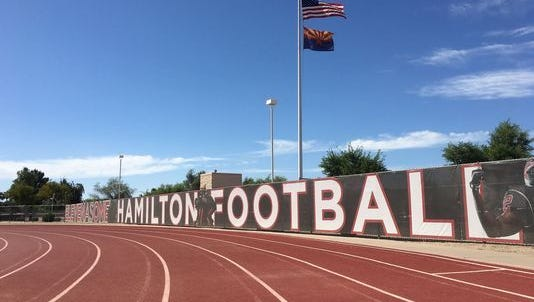 The family of a sixthstudent reportedly sexually assaulted by Hamilton High School football players has filed a multimillion-dollar notice of claim against the Chandler Unified School District.