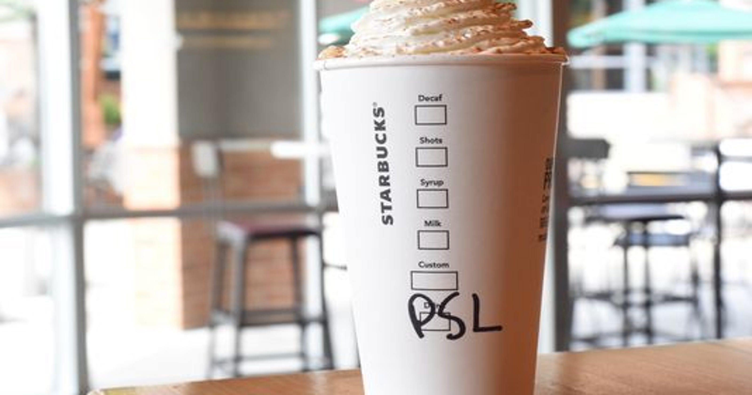 Starbucks\' Pumpkin Spice Latte launch is confusing everyone