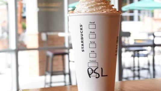 September marks the start of Starbuck's Pumpkin Spice Latte season.